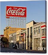 Coca Cola Billboard - San Francisco, California Usa Canvas Print