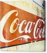 Coca Cola Sign  Canvas Print