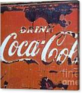 Cocacola Ice Box Canvas Print