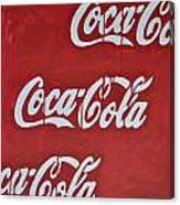 Cocacola Canvas Print