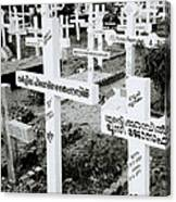 Cochin Cemetery  Canvas Print