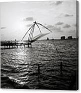Dusk At Cochin Canvas Print