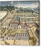 Cochin, Louise Madeleine 1686-1767. The Canvas Print