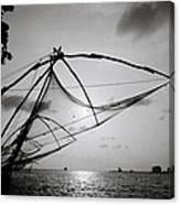 Dusk Over Cochin Canvas Print