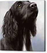 Cocker Spaniel Painting Canvas Print