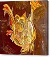 Cockerel 0450 Marucii Canvas Print