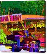 Coco Frio Canvas Print