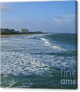 Cocoa Beach Seascape Canvas Print