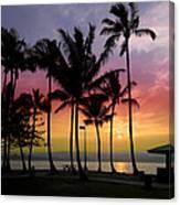 Coconut Island Sunset - Hawaii Canvas Print