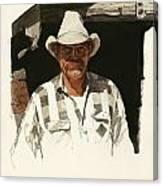 Cody Cowboy 2 Canvas Print