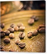 Coffe Beans Canvas Print