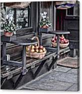 Coffe Shop Cafe Canvas Print