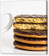 Coffee And Cookies. Canvas Print