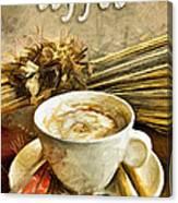 Coffee - Drawing Canvas Print
