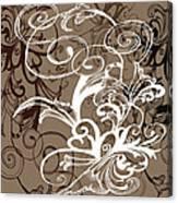 Coffee Flowers 1 Canvas Print