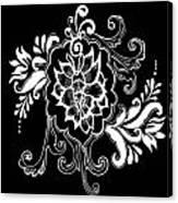 Coffee Flowers 10 Canvas Print