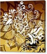 Coffee Flowers 10 Calypso Canvas Print