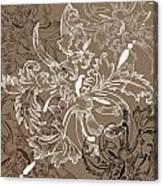 Coffee Flowers 11 Canvas Print