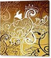 Coffee Flowers 5 Calypso Canvas Print