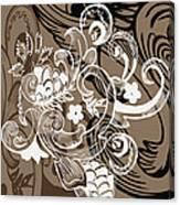 Coffee Flowers 8  Canvas Print