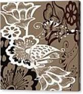 Coffee Flowers 9 Canvas Print