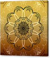 Coffee Flowers Calypso Triptych 4 Vertical Canvas Print