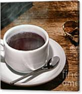 Coffee For The Voyageur Canvas Print