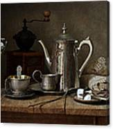 Coffee Has Gone Canvas Print