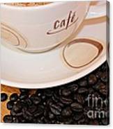Coffee Rush Canvas Print