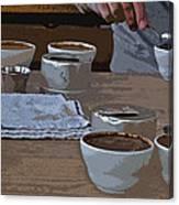 Coffee Tasting Canvas Print