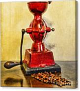 Coffee The Morning Grind Canvas Print