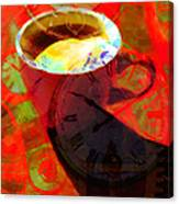Coffee Time My Time 5d24472m12 Canvas Print