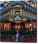 Coffeehouse - The Sidewalk Cafe II Canvas Print