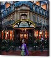 Coffeehouse - The Sidewalk Cafe Canvas Print