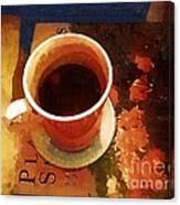 Coffeetable Book Canvas Print