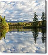 Coffin Pond - Sugar Hill, New Hampshire Canvas Print