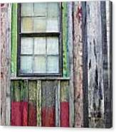 Coforful Old House Canvas Print
