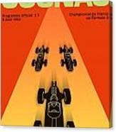 Cognac France F3 Grand Prix 1964 Canvas Print
