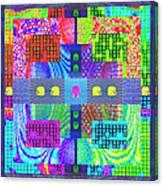 Cognitive Quilt Canvas Print