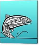 Coho Salmon Canvas Print