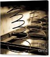 Coil Bed Springs Canvas Print