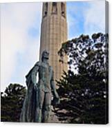 Coit Tower -1 Canvas Print