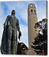 Coit Tower -2 Canvas Print