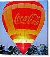 Coke Float Canvas Print