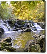 Coker Creek Falls Canvas Print