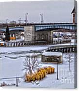 Col Patrick O' Rorke Memorial Bridge Canvas Print