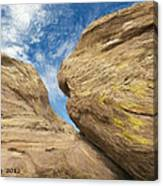 Colby's Cliff Canvas Print