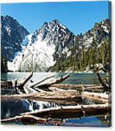 Colchuck Lake Panorama Canvas Print