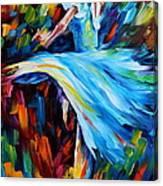 Cold Ballet Canvas Print