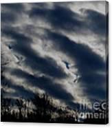 Cold Cloudscape Canvas Print